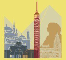 Cairo skyline poster One Piece - Short Sleeve