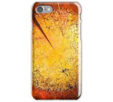 String Theory Zen by Phyllis Moser iPhone Case/Skin