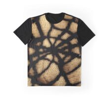 BLACK INK SPIDERS WEB Graphic T-Shirt