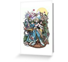 Zidane & Friends Greeting Card