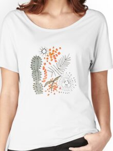 Cacti Watercolour Women's Relaxed Fit T-Shirt