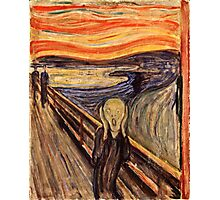 Edvard Munch - The Scream 1893  Photographic Print