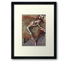 Edgar Degas - Dancers 2 Framed Print