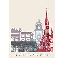 Gothenburg skyline poster Photographic Print