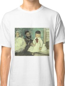 Edgar Degas - Comte Le Pic And His Sons Classic T-Shirt