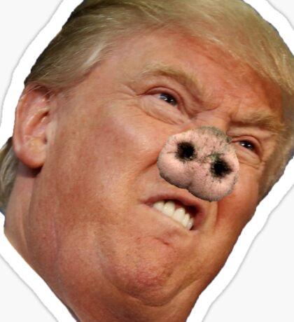 Trump Pig Sticker