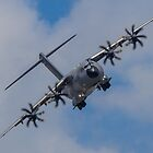 A400M Atlas military transport aircraft by spitfirebbmf