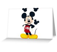 Mickey Mouse love  Greeting Card