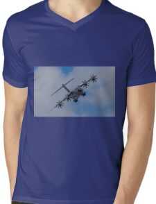 A400M Atlas military transport aircraft Mens V-Neck T-Shirt