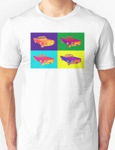 1965 Ford Mustang Convertible Pop Art Design Unisex T-Shirt