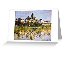 Claude Monet - Vetheuil The Church Greeting Card