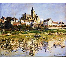 Claude Monet - Vetheuil The Church Photographic Print