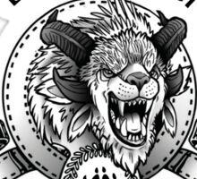 Charr GW2 Black Citadel Sticker