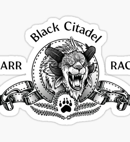 Charr GW2 Black Citadel Sticker