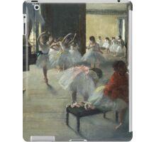 Edgar Degas - The Dance Class iPad Case/Skin