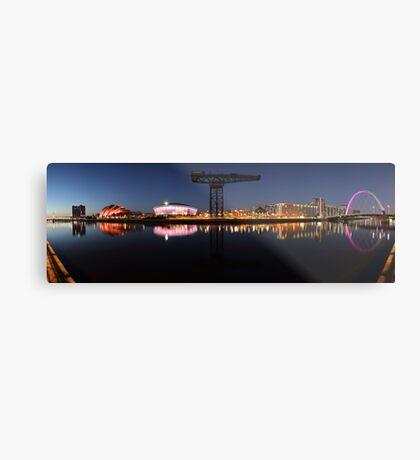 River View Panoramic Metal Print