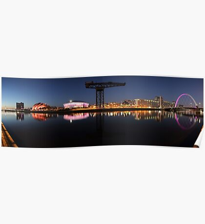River View Panoramic Poster