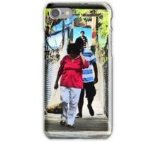 rope bridge II - puente colgante iPhone Case/Skin