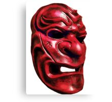 Red Mask Canvas Print