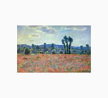 Claude Monet - Poppy Field In Giverny 03 Unisex T-Shirt