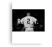 Pinstripe Rej2ct Canvas Print