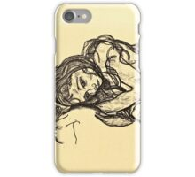 Egon Schiele - Madchen Girl  iPhone Case/Skin