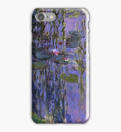 Claude Monet - Water Lilies 1919 3 iPhone Case/Skin