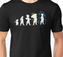 Dragonball Z Super Saiyan Evolution God Unisex T-Shirt