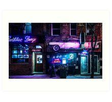 Cadillac Lounge Art Print