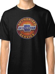 Chevrolet Vintage Cars Authorized service sign Classic T-Shirt