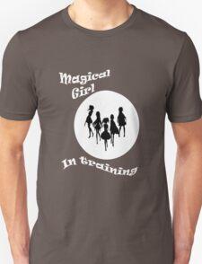 Magical girl in training -  Madoka magica -  black version Unisex T-Shirt