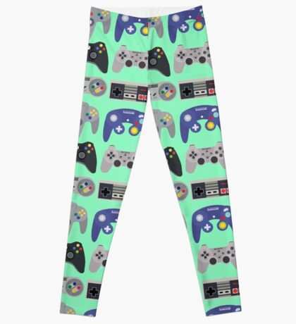 Console Gamer Leggings Pattern Leggings