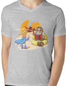Draw me a pig ! Mens V-Neck T-Shirt