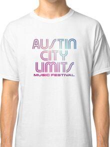 Austin City Limits Music Festival 2016 - Blue Violet Color Classic T-Shirt