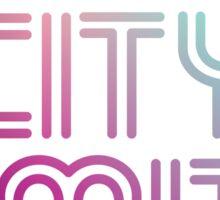 Austin City Limits Music Festival 2016 - Blue Violet Color Sticker