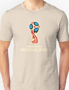 FIFA WORLD CUP THE BEST LOGO RUSSIA 2018 Unisex T-Shirt