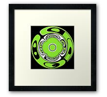 Celtic mandala Framed Print