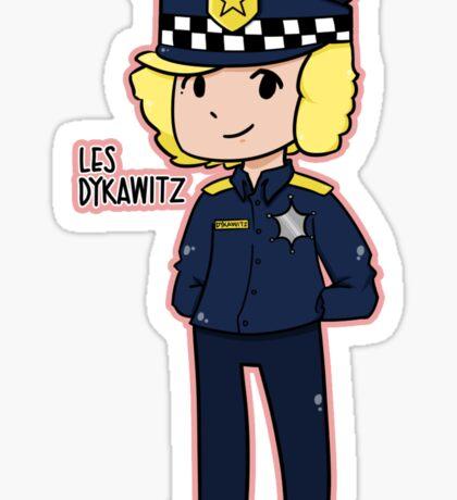 SNL - Les Dykawitz Sticker