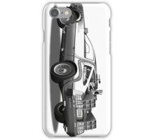 Time Travelling De Loreon iPhone Case/Skin