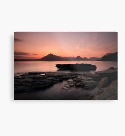 Skye Sunset Afterglow Metal Print