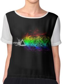 Pink Floyd - The Dark Side Of The Moon Chiffon Top