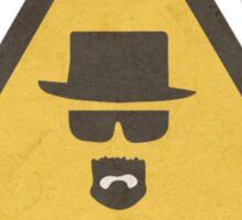 Breaking Bad Hazard Sign Sticker