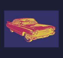 1960 Cadillac Luxury Car Pop Image Kids Tee