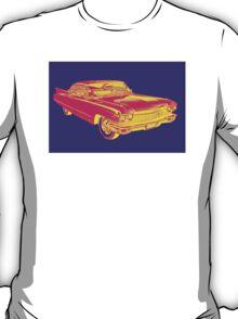 1960 Cadillac Luxury Car Pop Image T-Shirt