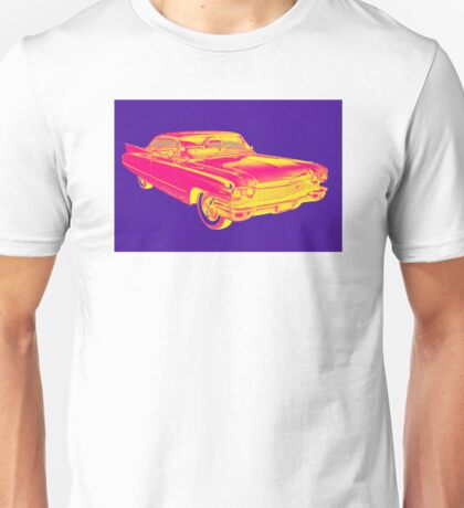 1960 Cadillac Luxury Car Pop Image Unisex T-Shirt