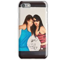 Aaliyah and Left Eye iPhone Case/Skin