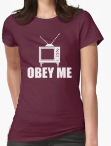Obey Me Womens Fitted T-Shirt
