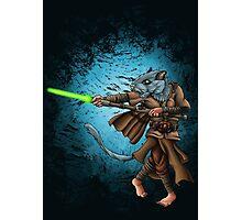 Jedi Gerbil Photographic Print