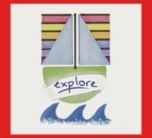 Explore the World Kids Tee