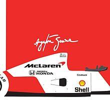 Ayrton Senna's 1992 McLaren MP4/7 by ApexFibers